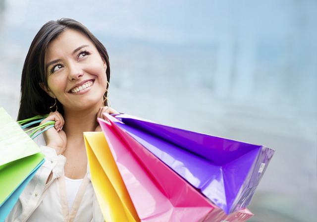 shopping-lady