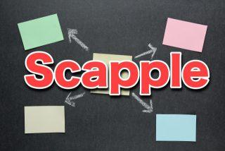 もう手放せない!マップツール「Scapple」で頭の中を整理する方法